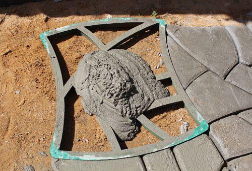 Как сделать плитку из цемента