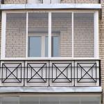 застекление балкона3