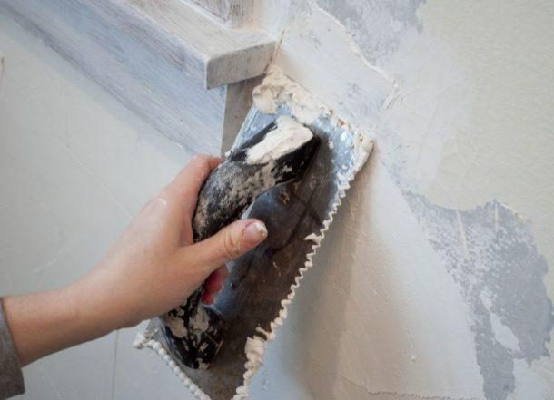 жидкие обои подготовка стен
