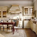 зонирование кухни отделка пола 2