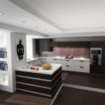 зонирование кухни подиум 2